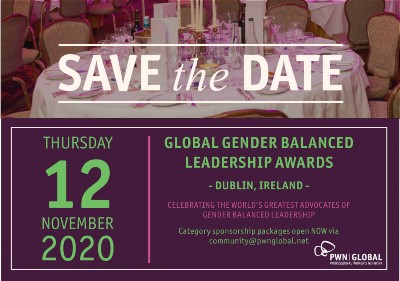 PWN Global Gender Balanced Leadership Awards 2020