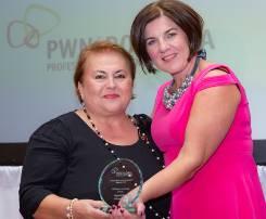 Virginia Otel, President of PWN Romania awarded  PWN Global Member or the Year