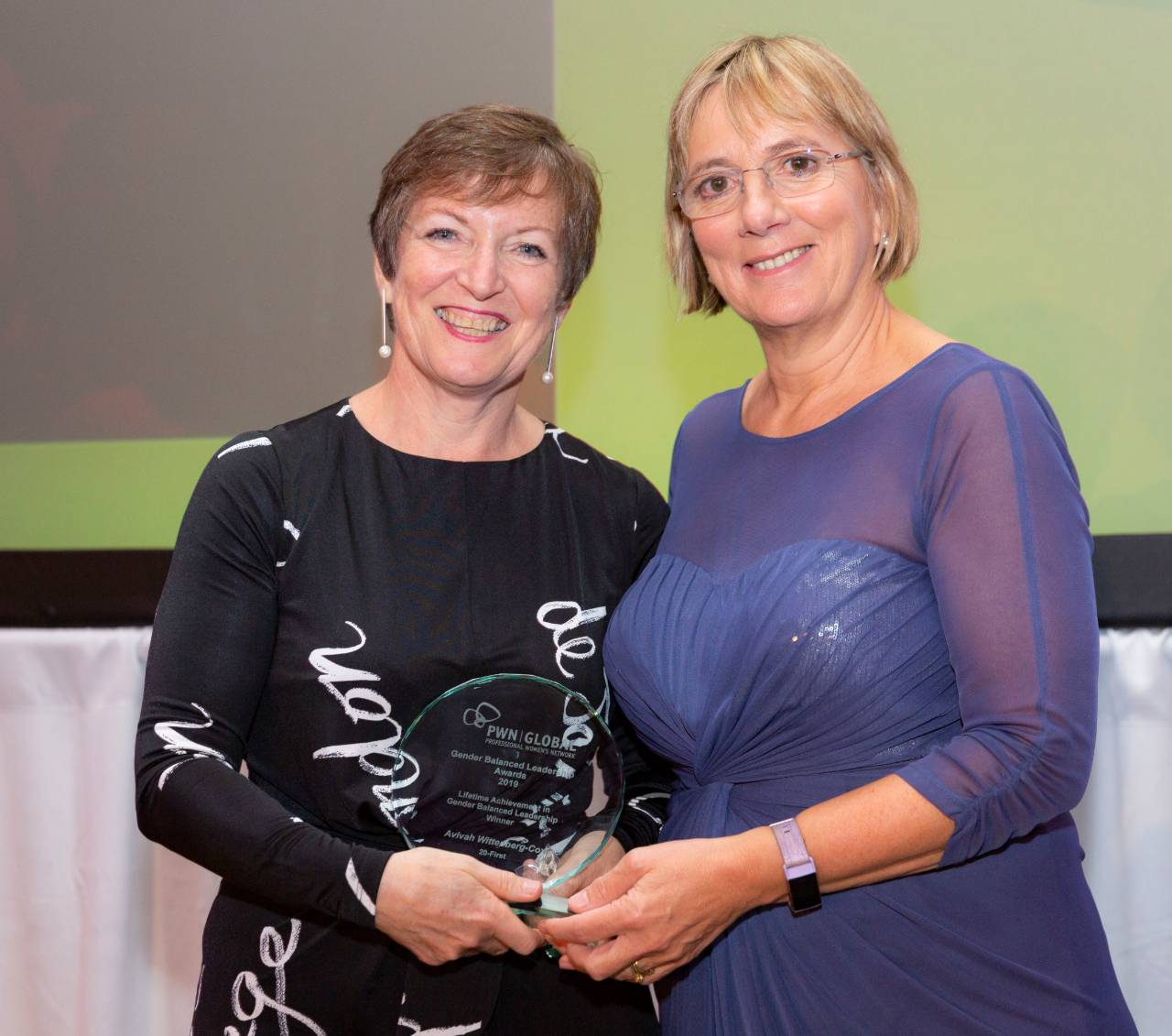 Julie Sinnamon CEO Enterprise Ireland and Avivah Wittenberg Cox CEO 20First